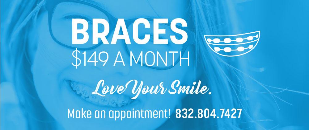 Lovett Dental Heights special offer braaces