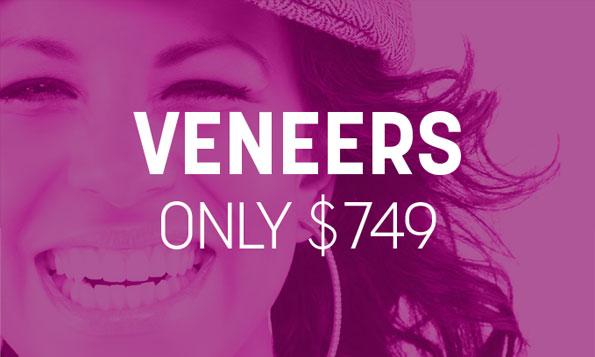 Lovett Dental Heights special offer veneers